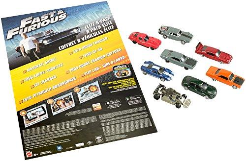 Mattel FCG08 Metal vehículo de Juguete - Vehículos de Juguete (Multicolor, Vehicle Set, Metal, Fast & Furious, 3 año(s), 1:55)