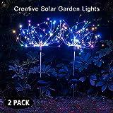 Solar Garden Decorative Lights Outdoor -Mopha Solar 120LED Powered...