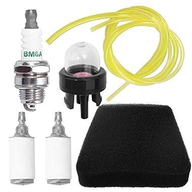 Air Filter Spark Plug Cropper Fits Mcculloch Chainsaw 2000 3200 3500 3516 3210