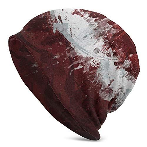 Lawenp Gorros de punto de la bandera de Letonia para hombre y mujer, sombreros de invierno