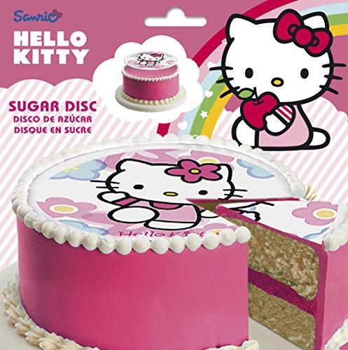 Dekora Hello Kitty Disco de Azúcar - 15 gr