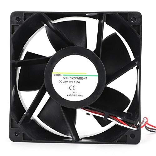 Cafopgrill Koelventilator Hoge Luchtstroom 24V 28,8 W 4800 RPM Omvormer DC Ventilator voor Waterpomp Computer Onderdeel Binnen, Slaapkamer en Home Office Gebruik