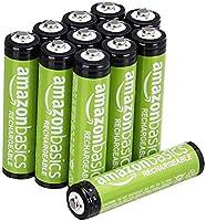 Amazon Basics Baterías Recargables AAA 8 Piezas