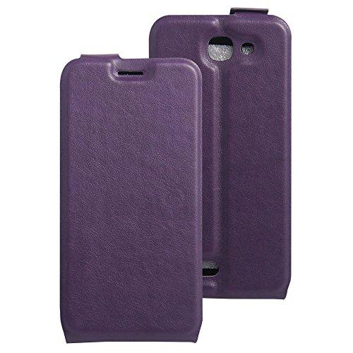 Litao-Case CN Hülle für Archos 50e Helium hülle Flip Leder + TPU Silikon Fixierh Schutzhülle Case 1