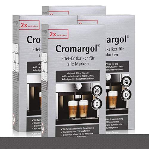WMF Cromargol Edel-Entkalker für Kaffeevollautomaten uvm. 2x100ml (4er Pack)