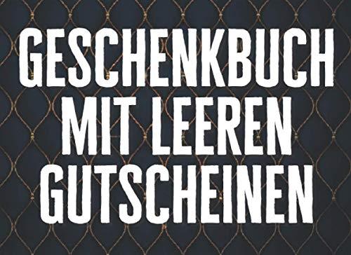 """Geschenkbuch Mit Leeren Gutscheinen: Buch Mit """"Diy"""" Vouchers (Machen Sie Es Selbst) Für Die Familie, Freunde Und Mitarbeiter Als Ein Persönliches Und ... Valentinstag Usw.   Zum Selbst Ausfüllen"""