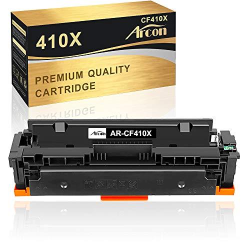 Arcon Kompatibel Toner Cartridge Replacement für HP410A HP410X CF410X für HP Color Laserjet Pro MFP M477 M477FDW M477FDN M477FNW M452 M452DN M452DW M452NW M377 M377DW Druckerpatrone-Schwarz