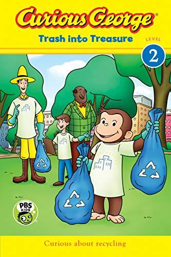 Curious George: Trash into Treasure (CGTV Reader) (English Edition)