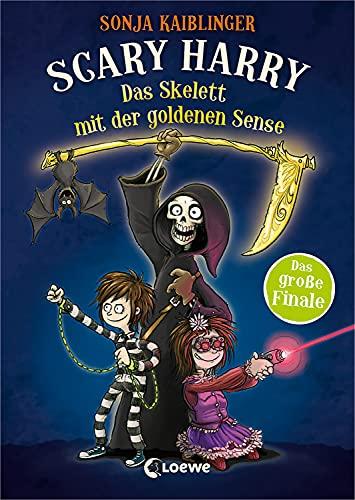 Scary Harry (Band 9) - Das Skelett mit der goldenen Sense: Finale der beliebten Kinderbuchreihe ab 10 Jahre (German Edition)