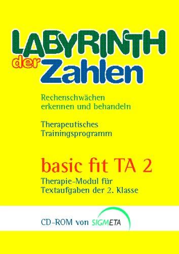basic fit TA 2, 1 CD-ROMTherapie-Modul für Textaufgaben der 2. Klasse. Für Windows XP/2000