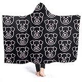 Cupaate Hooded Blanket 3D Shane Dawson New Pig Merch Jeffree Star YouTube Shanedawsonmerch Super Soft Sherpa Fleece Blanket 50'' x40