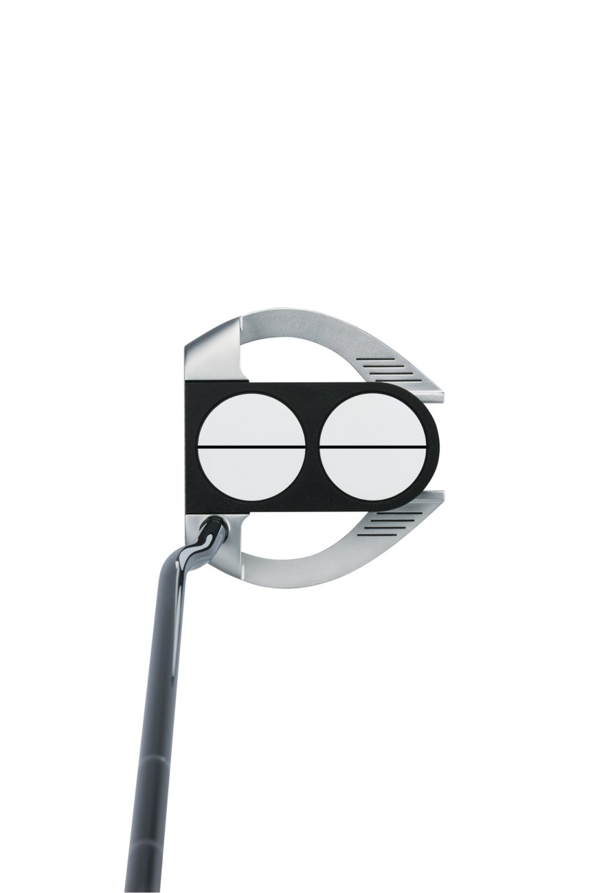 Product Image 3: Odyssey Golf Men's Lined Versa with Superstroke Grip Works 2-Ball Fang Putter
