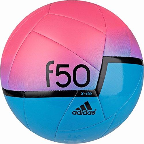 adidas Herren Fußball F50 X-ITE, Solar Blue2 S14/Neon Pink/Black, 5