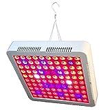 Benkeg Lámpara de Cultivo,LED Grow Light 70-80W 100Pcs Leds UV IR Rojo Azul Blanco Panel de Espectro Planta de Espectro Completo Lámparas de Cultivo para Plantas de Interior Plántulas