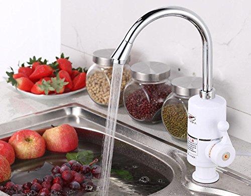 S.Twl.E wastafel mixer kraan kraan badkamer keuken wastafel kraan lekvrij opslaan water veiligheid energie besparen elektrische keuken met warm en koud twee snelheid verwarming