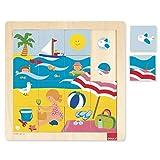 Goula Summer Puzzle Encajes Madera Verano, Multicolor (Diset 53086)