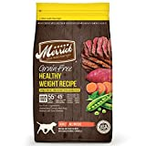 Merrick Grain Free Healthy Weight Dry Dog Food Recipes, Healthy Weight Real Beef, 25 Pound