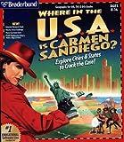 The Learning Company où in the USA est Carmen Sandiego? (JC)