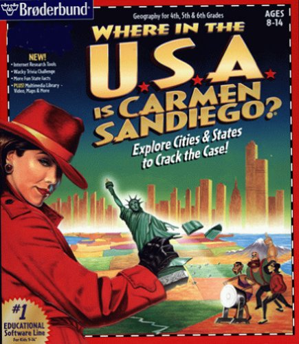 Price comparison product image Where in the USA is Carmen Sandiego (JC)
