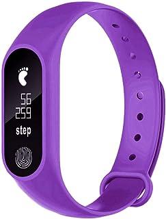 comprar comparacion OPAKY para M2 Podómetro Deportivo Pulsera Inteligente Ritmo Cardíaco Bluetooth V4.0 Reloj Inteligente Monitor de Ritmo Car...