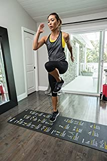 SKLZ Sport Performance Exercise Mat with Self-Guided Exercise Illustrations