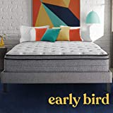 Early Bird Fusion Hybrid 12-inch Medium Eurotop Mattress Cooling Gel Memory Foam Comfort and Innerspring Support, Bed in a Box, CertiPUR-US Certified, Handcrafted in The USA, King