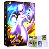 LSST Album for Pokemon Cards, Pokemon Trading Card Protector Sleeves, Pokemon Card Holder Binder, Album Binder for Pokemon Card, Hold 240 Cards / Mewtwo