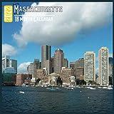 Massachusetts Calendar 2022: 18 Month Calendar Massachusetts, Square Calendar 2022, Cute Gift Idea For Massachusetts Lovers Women & Men, Size 8.5 x 8.5 Inch Monthly