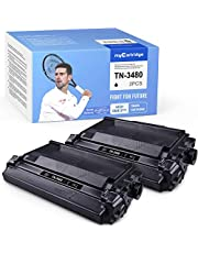 MyCartridge Compatibel Brother TN-3480 TN3480 Toner voor Brother HL-L5100D L5000DN L5200DW L6200DW DCP-L5500DN MFC-L6800DW L6900DW (2*zwart)