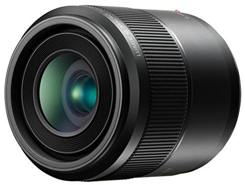 Panasonic LUMIX G MACRO LENS, 30MM, F2.8 ASPH, MIRRORLESS MICRO FOUR THIRDS, MEGA OPTICAL I.S, H-HS030 (USA BLACK)