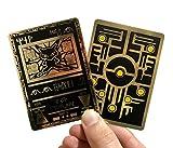 Custom Gold Metal Card Ancient Mew Pokemon Card