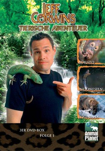 Animal Planet - Jeff Corwins tierische Abenteuer, Vol. 1 (3 DVDs)