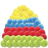 Tumnea Wasserbomben Bälle Set, Wasserbälle Baumwolle Spritzwasserbälle Spielzeug für Jugendliche...