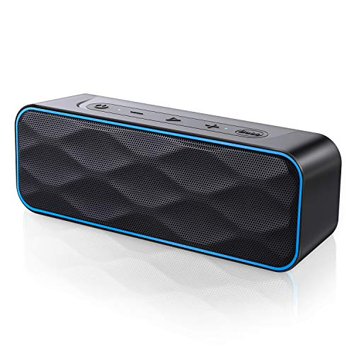 Bluetooth Lautsprecher 20W Musikbox IPX7 Wasserschutz Bluetooth 5.0 TWS Stereo Sound Intensiver Bass Bluetooth Speaker 36 Stunden Spielzeitund Eingebautes Mikrofon, für Handy, PC, TV