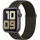 SSEIHI Cinturino Compatibile con Apple Watch Cinturino 38mm 40mm 42mm 44mm,Cinturino di Ricambio in Nylon inturino di Ricambio...