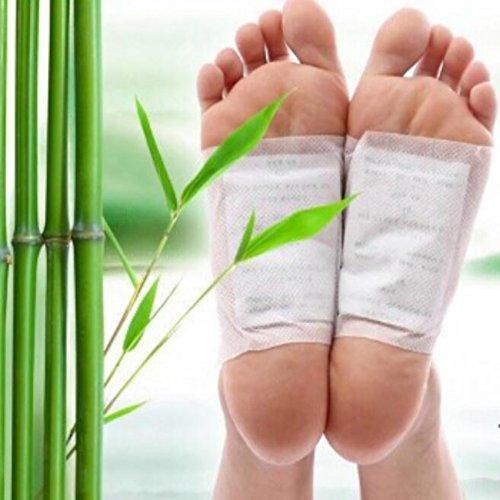 Placehap Kinoki Detox Fuß-Pads für Körper, Toxine, Füße, Abnehmen, Reinigen, Kräuterkleber