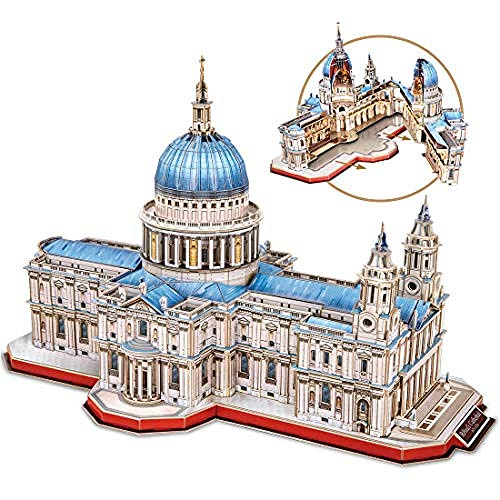 3D puzzle large St Paul Cathedral London Cathedral building