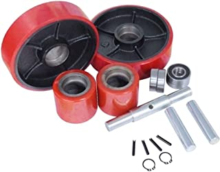 Replacement Wheel Kit for Manual Pallet Jack 20mm ID Bearings 7