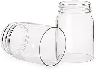 Mason Jar Clear Open Bttm5.5in
