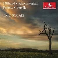 Milhaud / Bartoke: Piano Trios