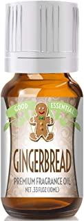 Gingerbread Scented Oil by Good Essential (Premium Grade Fragrance Oil) - Perfect for Aromatherapy, Soaps, Candles, Slime, Lotions, and More!