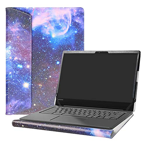 Alapmk Diseñado Especialmente La Funda Protectora para 14' Lenovo Chromebook S330/ThinkPad E14/ThinkBook 14/ideapad S340 14 S340-14API & Acer Chromebook 314 C933 CB314-1H Laptop,Galaxy