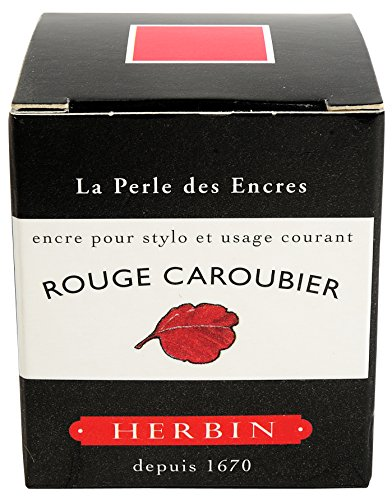 J. Herbin 13022T - Tinta para pluma estilográfica (30 ml), color rojo