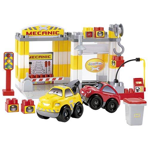 Ecoiffier - A1504290 - Véhicule Miniature - Garage - Mécanique Fast Car