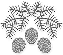 WAROIS Pinecone Bough Metal Cutting Dies New 2019 for Card Making Craft Dies Scrapbooking DIY Album Embossing Paper Die Cut