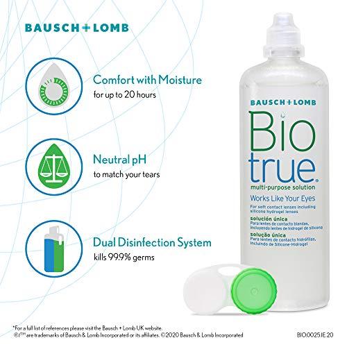 Biotrue Mehrzweck-Kontaktlinsenlösung 300ml - 3