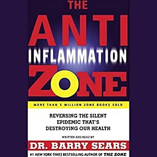 The Anti-Inflammation Zone audiobook cover art