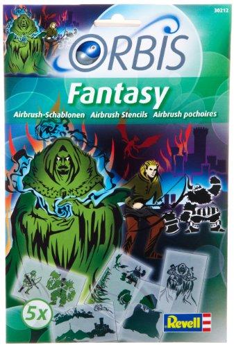 Revell Orbis 30212 - Kinderairbrush - Schablonen-Set Fantasy