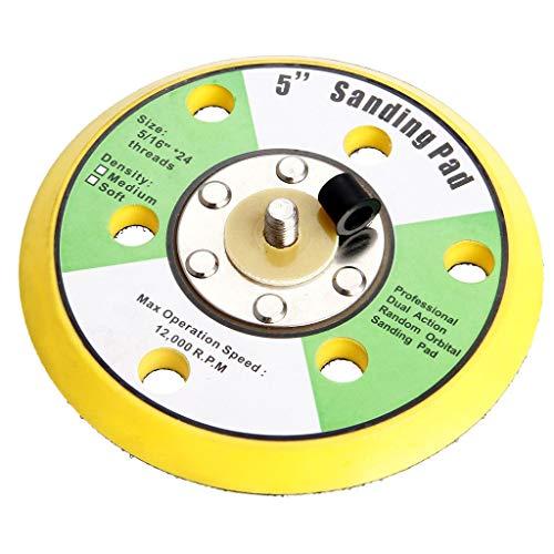 Eliky schuurpapier polijstschijf schuurschijven 125 mm klittenband prestaties zanders polijstmachine