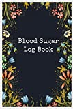 Blood Sugar Log Book: Weekly Blood Sugar Diary, Enough For 106 Weeks or 2 Years, Daily Diabetic Glucose Tracker Journal Book